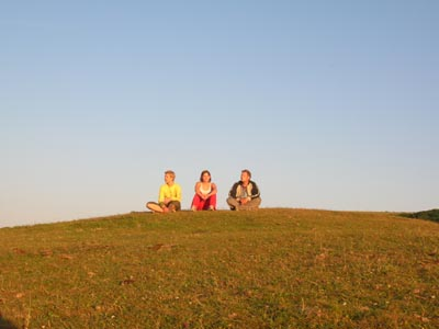 a hill near Burnbake