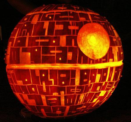 pumpkin deathstar