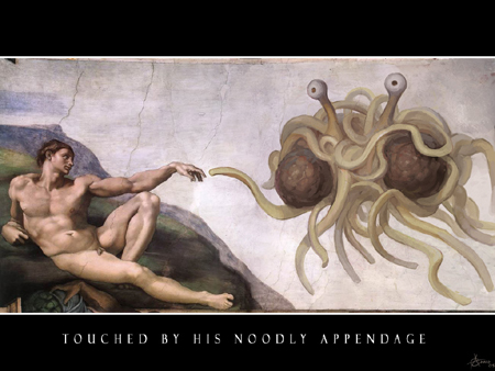 his noodly appendage