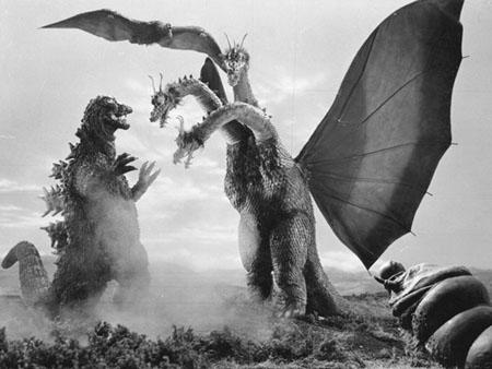 Godzilla vs astro-monster