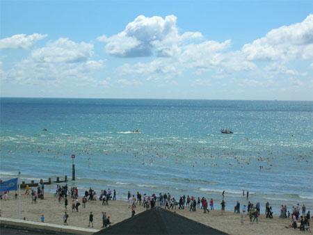 pier2pier swim 2007