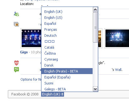 English pirate beta