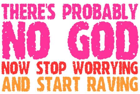 raving no god