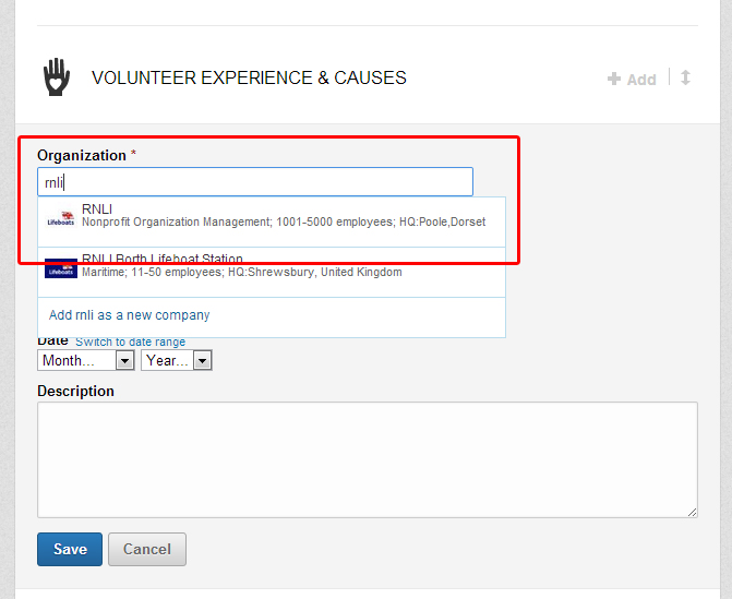 adding volunteer experience to linkedin alukeonlife