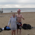 Bournemouth Spartans Christmas Swim and friends
