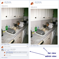 Reply and hide comments on Facebook pages